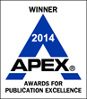 2014 Proud Recipient of the APEX Publishing Excellence Award