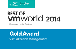 Best of VMworld Gold Award