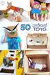Amazing Cardboard Crafts Have Been Released on Kids Activities Blog