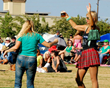 Festive crowd at Murrieta, Ca's Get Shamrocked Irish Festival