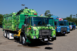 Houston's Art Recycling Truck fleet Unveiled at Hermann Park