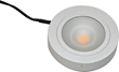 Compact Puck Lights from Loox can fit anywhere and provide soft, task and accent illumination.