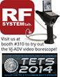 Video Borescope Demos at the 2014 TETS Symposium