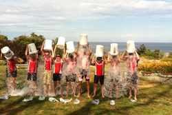 bike tour als ice bucket challenge