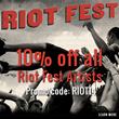 Riot Fest Promotion- Iconic Shop