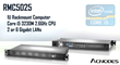 Acnodes' 1U Rackmount Computer Features Core i5 3230M 2.6GHz Processor