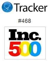 Tracker Corp Ranks #468 in Inc. 500