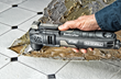 Rockwell Sonicrafter F30 is ideal for removing tile adhesive