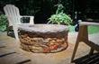 Casual Patio with Walttools fire pit