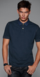 Short-sleeved Pique Polo Shirt