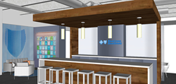 Artist rendering of store interior.