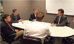 Congressman Moffitt Visits Aeroflow Healthcare