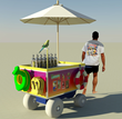 Vending Carts for Beach