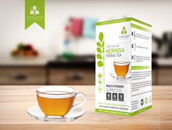 Vitaleaf Moringa Tea Box
