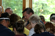 Thompson Commissioned as Chaplain at Eagle Village