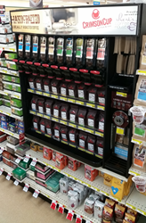 Crimson Cup Coffee & Tea display at Gardner's SUPERVALU in Norwalk, Ohio