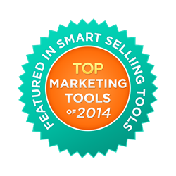 Top 40 Marketing Tool of 2014 Award Badge