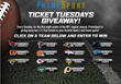 "PrimeSport Announces ""PrimeSport Ticket Tuesdays"" Where Fans..."