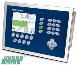 METTLER TOLEDO Introduces PROFINET IO® Interface Option for Popular Weighing Terminal.