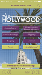 Hollywood Visitors Guide iPhone app