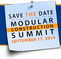 The Sacramento Modular Construction Summit will be held 9/17