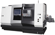 Okuma's New LU4000 EX CNC Lathe Utilizes Two Tools Working...