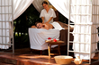 Outdoor Treatment Room at Casa Velas Spa