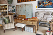 Shop with Vintage Room Setting