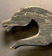 Early Wooden Horse Weathervane
