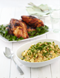 Aussie-Style BBQ Chicken with All-American Potato Salad