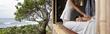 One of Nalu Kinetic Spa's oceanside cabanas.