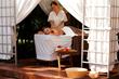 Outdoor Treatment Room at Casa Velas Spa