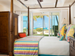 All Tuscany master bedrooms with king beds overlook Grace Bay with well-appointed master bathroom suites.