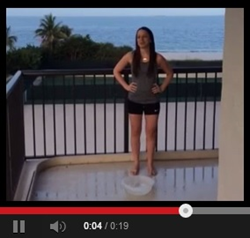 Melissa j. Ulloa esq. Reyes Law Group ALS ice bucket challenge