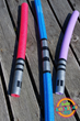 DIY pool noodle lightsabers