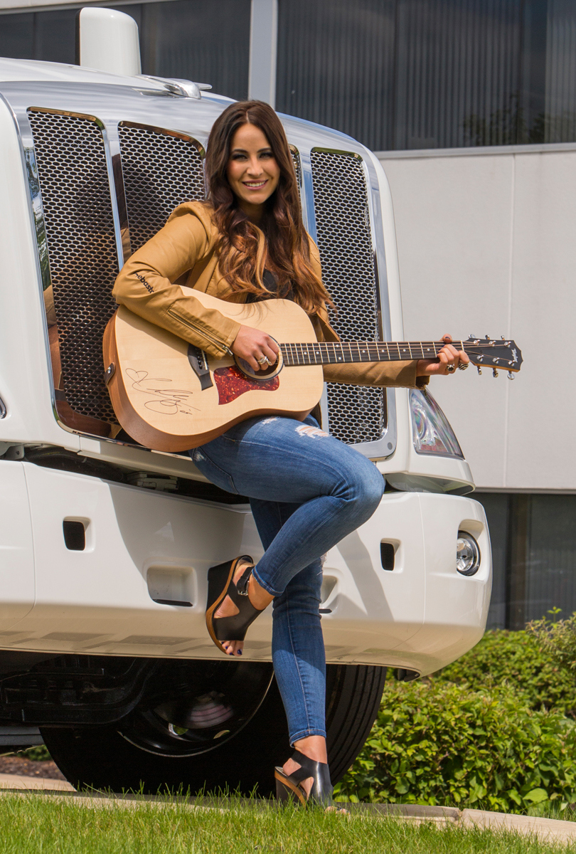 Build A Truck >> Webasto Heats Up the Truck Scene with Country Music Sensation, Chelsea Bain
