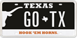 New University of Texas License Plates