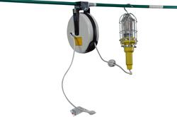 10 Watt LED Hand Lamp with 30' Cord Reel