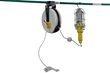 Larson Electronics Releases a Hand Lamp With 10 Watt Colored LED Bulb and Cord Reel