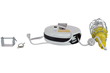 30' Cord Reel Equipped with a 10 Watt LED Vapor Proof Hand Lamp