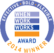 FlexJobs Recognized with a 2014 When Work Works Award