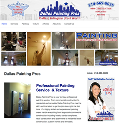 painiting contractor service dallas