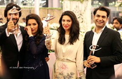 Pakistani popular TV actor Fawad Khan during TV Awards - Photo by TV.com.pk