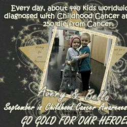 Hands On HealthCare Massage Therapy Recognizes National Childhood Cancer Awareness Month