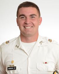 LTC Seth Jackson, a senior from Dillwyn, Virginia is this year's Battalion Commander at Fork Union Military Academy.