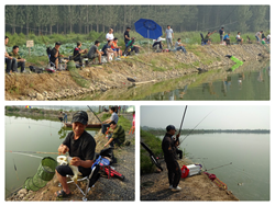 On August 21 Sanmenxia Mingzhu Electric Metallurgical Co., Ltd held a fishing competition.