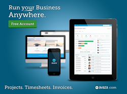 Avaza.com - Online Projects, Timesheets and Invoices