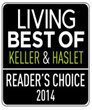 "Spine Team Texas chosen Reader's Choice ""Best of 2014""  Keller & Haslett"
