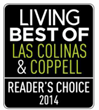 "Spine Team Texas chosen Reader's Choice ""Best of 2014"" Las Colinas & Coppell"