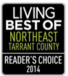 "Spine Team Texas chosen Reader's Choice ""Best of 2014"" Northeast Tarrant County"